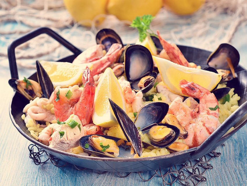 Tasty Spanish Paella