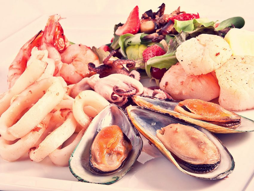 Seafood And Salad